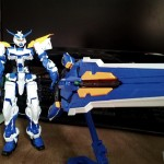 full view with tactical arms in buster sword mode
